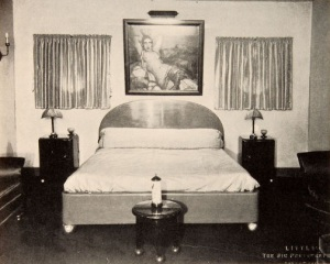 Valentino's bedroom